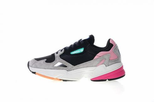 Adidas Originals Falcon Suede Casual Shoes Light Granite Pink BB9173