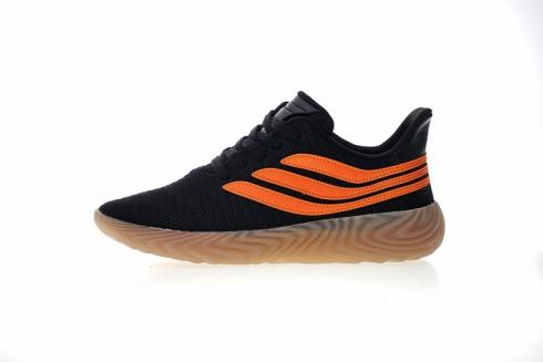 Moviente Costa perspectiva  Adidas Originals Sobakov Black Orange Gum AQ1136 - Yezshoes