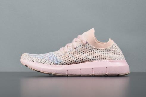 Adidas Swift Run PK Womens Ice Pink Primeknit Running Shoes CG4134