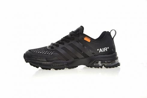 OFF WHITE x Adidas Aerobounce ST Bounce Black Running Shoes BW1802