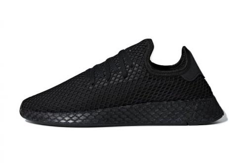 adidas Deerupt Triple Black Core Cloud White B41768