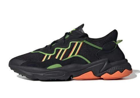 adidas Ozweego Core Black Green Orange EE5696