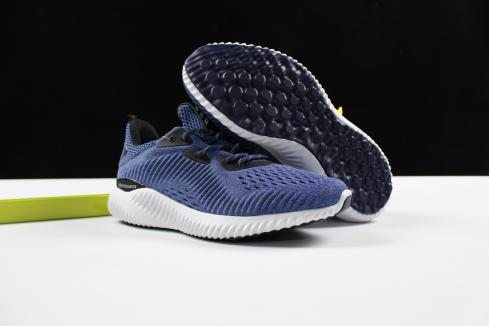 Adidas Alphabounce 330 Deep Blue White All