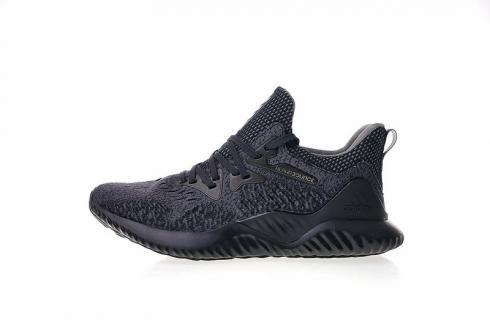 Competencia líquido sin cable  Adidas Alphabounce Beyond Carbon Grey Core Black Running Shoes AQ0573 -  Yezshoes