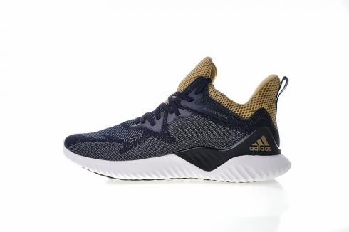Adidas Alphabounce Beyond Navy Gold AC4765