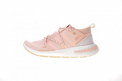 Adidas Originals Arkyn Boost Ash Pearl Pink White Shoes DA9698