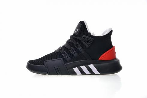 Adidas Originals EQT Bask ADV Black White High Res Red Running Shoes AQ1013