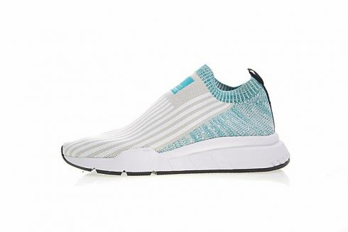 Adidas EQT Running ADV Sock 3-3 White Blue Green CQ2985