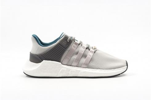 super popular b4401 50d89 Adidas EQT Support 93 17 Grey Teal White Boost Athletic Sneakers CQ2395