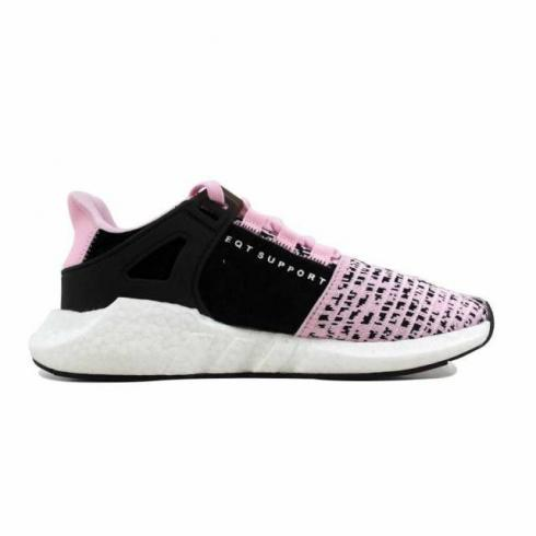 Viaje agrio abortar  Adidas EQT Support 93 17 Pink Black White Sneakers BZ0583 - Yezshoes