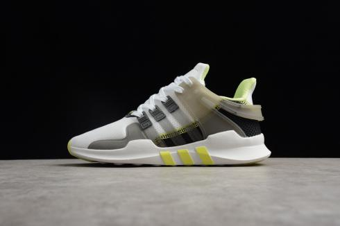 Adidas EQT Support ADV Womens Grey Frozen Yellow Running Shoes CQ2255