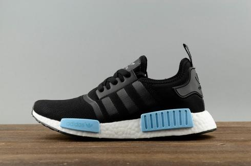 save off 01451 2ea48 Adidas NMD R1 PK Core Black Icey Blue Mint BY1913