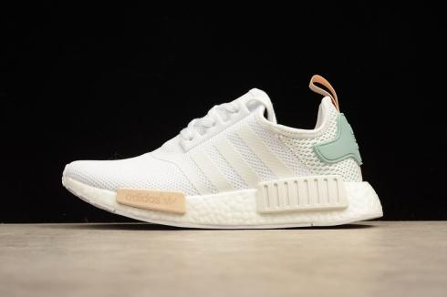 Adidas NMD R1 Runner Nomad White Tectile Green BY3033