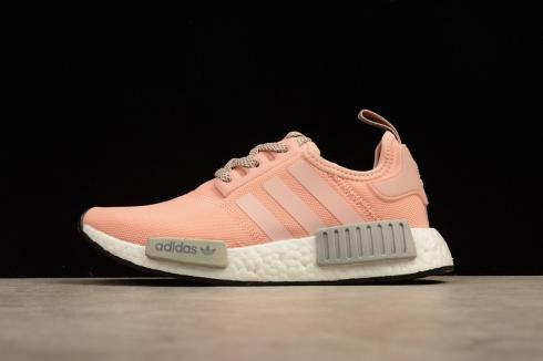 adidas nmd r1 boost white pink