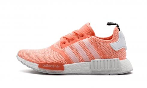 Adidas NMD R1 Women Sun Glow Pink Authentic Boost BY3034