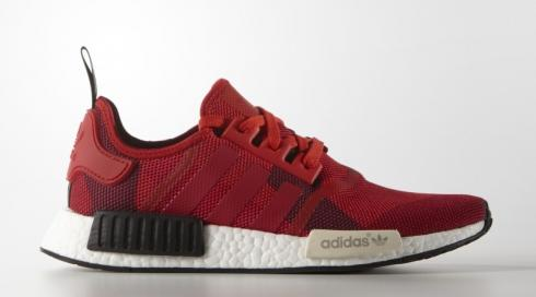 adidas NMD R1 Red Camo Lush Core Black S79164
