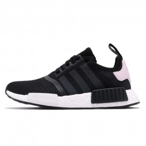 adidas WMNS NMD R1 Core Black Cloud White Clear Pink B37649