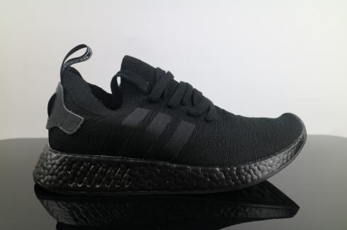 Adidas NMD R2 PK Black All BY9525