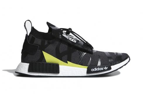 BAPE x Neighborhood x adidas NMD STLT Core Black Cloud White EE9702