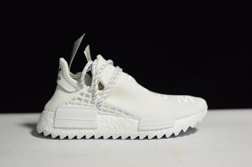Adidas NMD Human Race Phareel Williams Collaboration Boost All White AC7931