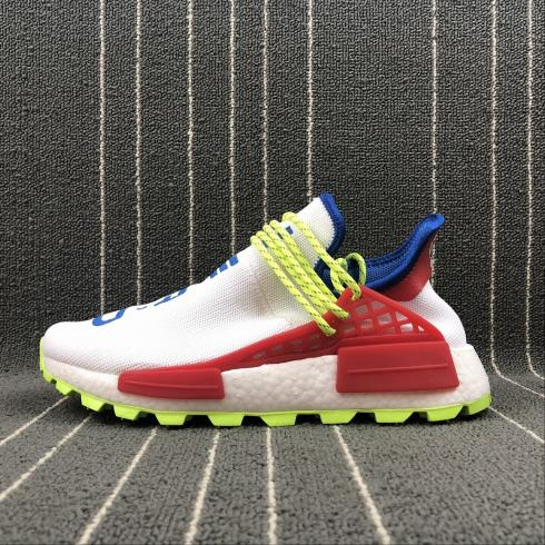 Adidas Originals PW Hu NMD White Blue Red F99769