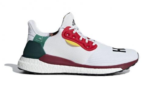 Adidas Pharrell Williams Solar HU Glide ST White BB8044