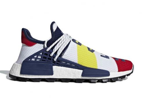 BBC x adidas NMD Hu Trail Heart Mind Scarlet Multicolor BB9544