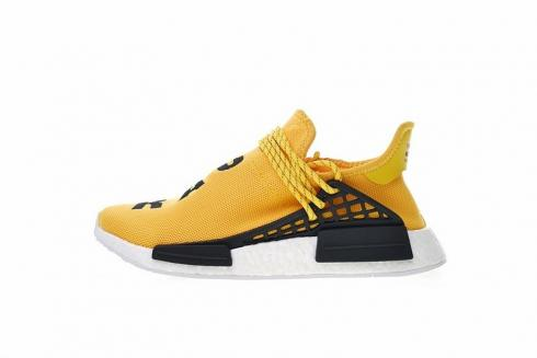 wholesale dealer c85e1 1d668 Pharrell x Adidas NMD Human Race Yellow BB0619
