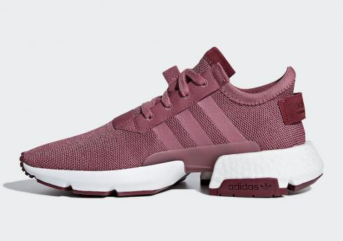 Adidas POD S3.1 Trace Maroon Women Running Shoes B37508
