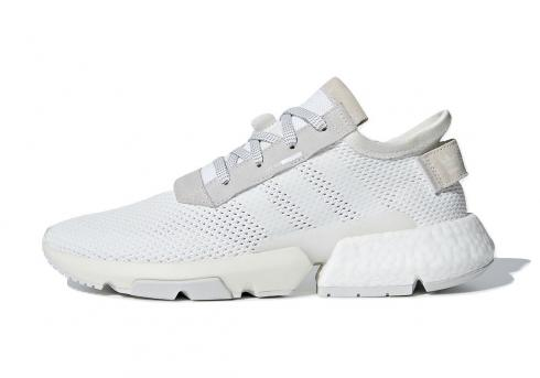 adidas POD S3.1 Triple White Footwear Grey One B28089