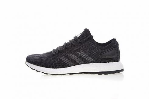Adidas PureBOOST Black Grey White Mens