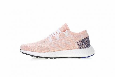 Adidas PureBOOST GO Running Shoes Pink White B75666