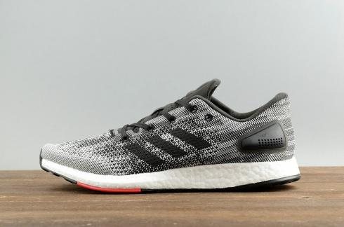 Adidas PureBoost DPR Grey Black Red White Trainers S80993