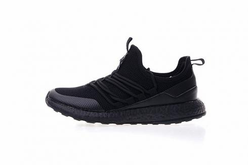 Adidas Pure Boost Triple Black Running Shoes BA8803