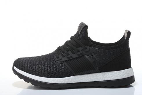 Adidas Pure Boost ZG Black White Sports Athletic Shoes