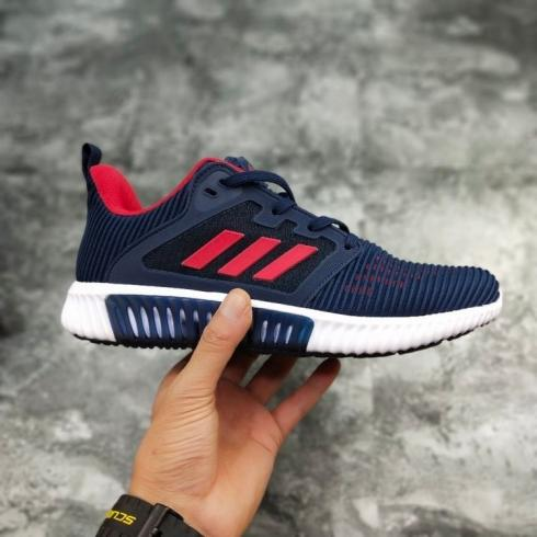 Adidas Climacool CM Blue Crimson Breeze Mesh Breathable Running Shoes S80710