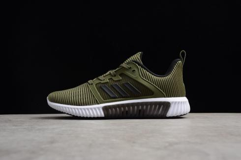 Adidas Climacool CM Olive White Breeze Mesh Breathable Running Shoes S80713