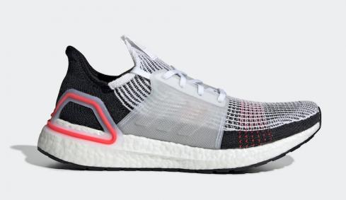 Adidas Ultra Boost 2019 Cloud White Active Red B37703