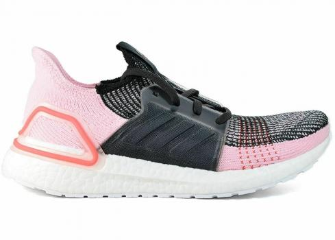 Adidas Ultra Boost 2019 Core Black Orchid Tint Action Red G26129