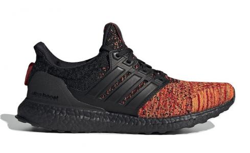Game of Thrones x adidas Ultra Boost Targaryen Dragons Core Black Scarlet EE3709