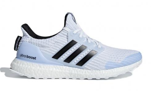 Game of Thrones x adidas Ultra Boost White Walkers Cloud Core Black Glow Blue EE3708