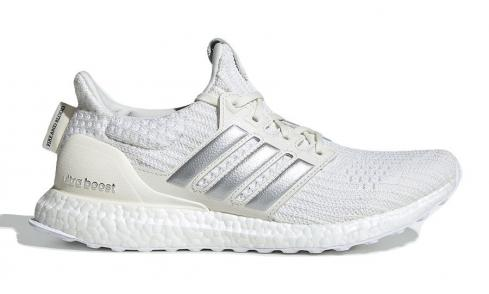 Game of Thrones x adidas WMNS Ultra Boost House Targaryen Off White Silver Metallic Core Black EE3711