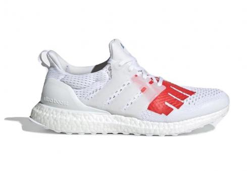 Undefeated x adidas Ultra Boost 1.0 Stars And Stripes White Red Blue EF1968