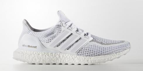 adidas Ultra Boost - White Reflective Footwear BB3928