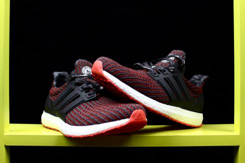 online store 75772 6646b Adidas Ultra Boost 4.0 Wine Red Black White