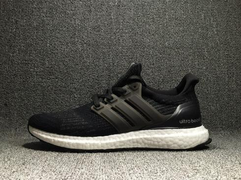 Adidas Ultra Boost 4.0 Black White Athletic Shoes S80731