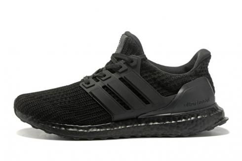 Adidas Ultra Boost 4.0 Running Shoes Triple Black BA9823