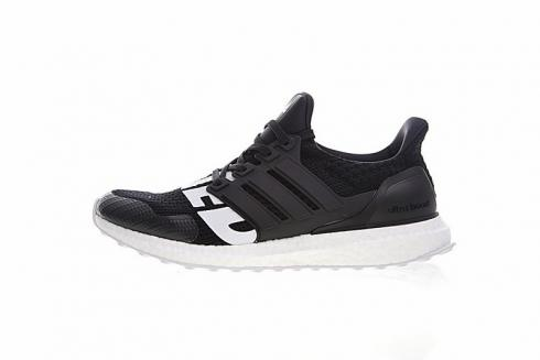 Adidas Ultra Boost 4.0 Undefeated Core Black White Running Shoes B22480