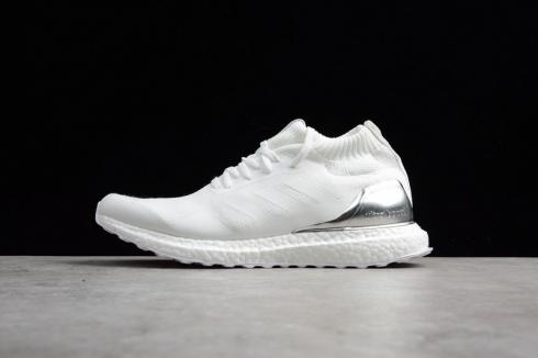 Adidas Ultra Boost ALL Mid Run Thru Time White Silver BY3108