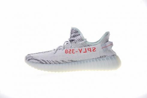 Adidas Yeezy Boost 350 V2 Blue Tint Athletic Shoes B37571